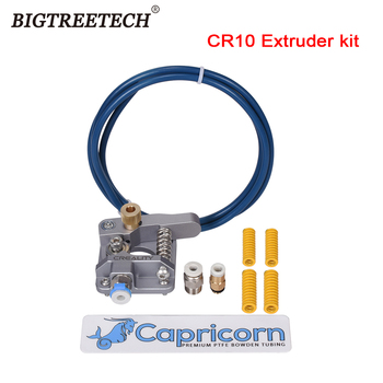 BIGTRETECH CR10 Bowden Extruder 1.75mm Filament Capricorn PTFE Tube Aluminum Alloy Block For CREALITY Ender 3 Upgrade 3D Printer