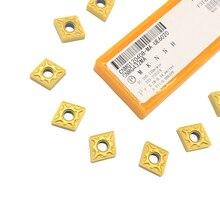 10 шт. CNMG120408 UE6020 внешние токарные инструменты твердосплавные вставки режущий токарный станок с ЧПУ инструменты Токарный резак