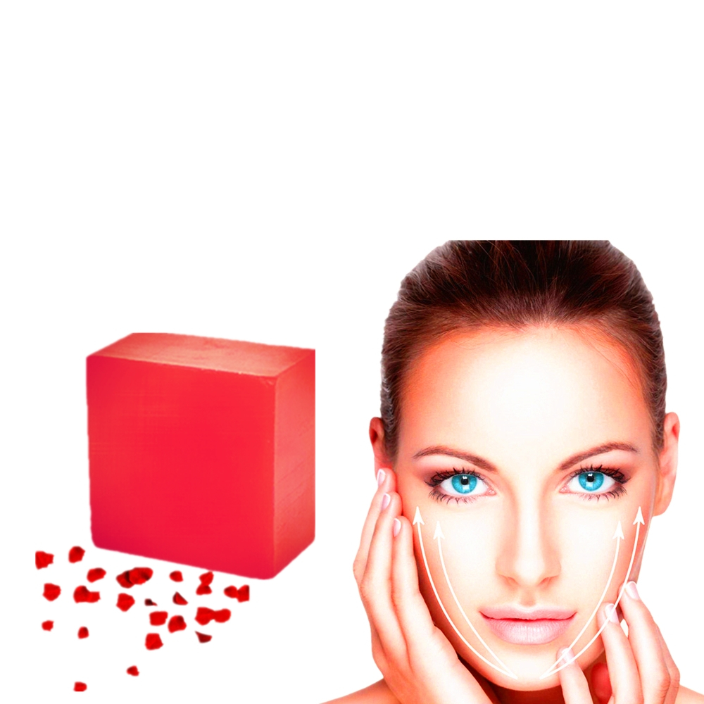 Soap 100g Rose Perfume Soap Hand Body Odor Remover Bar Soap ElimInates Garlic Onion Smells Strong Rose Fragrance Handmade Soaps