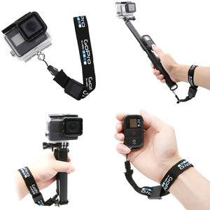 Image 1 - Dragonne/dragonne pour GoPro Hero 8 7 6 5 sessio 4 sj5000 SJ6 sj8 xiaoyi 4K DJI Osmo lanière de caméra daction logo de ceinture à dégagement rapide