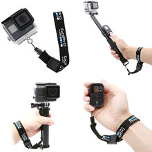 El/bilek kayışı GoPro Hero 8 7 6 5 sessio 4 sj5000 SJ6 sj8 xiaoyi 4K DJI osmo eylem kamera kordon hızlı bırakma kemer logo