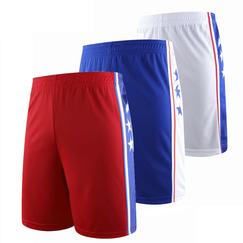2019 Men Basketball Shorts Quick Dry Breathable Sport Running Shorts Adult Kids Loose Fitness Football Basketball Training Short