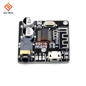 VHM-314 MP3 Bluetooth 5.0 4.2 decoder board lossless car speaker amplifier modified Audio Receiver decoder board Stereo DIY Kit image