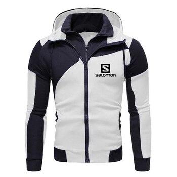 2020 New Fashion Hoody S Printed Autumn Men Hoodies Sweatshirts Casual Hooded Sportswear Jacket Coat Double layer Zip Cardigan 1