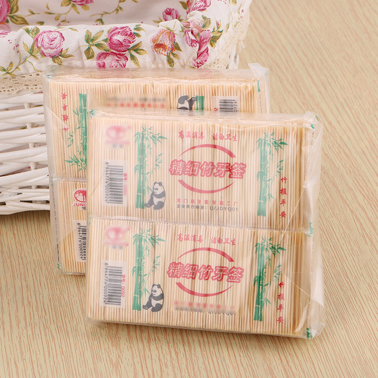 200 Pcs Bamboo Toothpicks Oral Wooden Tooth Pick Care Bamboo Products Chinese Style Toothpicks(China)