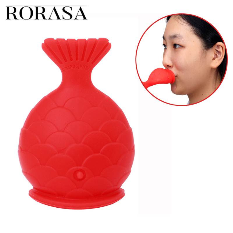 Plumper Lip Women Sexy Full Lip Plumper Enhancer Lips Silicone Fish Shape Plump Thicken Labium Tools Natural Pout Mouth Tool