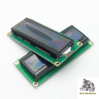 5pcs / lot blue screen 1602a blue screen LCD blue 5V white font with backlight LCD1602