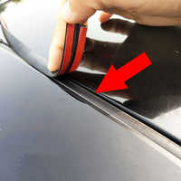 Car Door Weatherstrip Front Rear Windshield Edge Sealing Strips Sticker Car Roof Protector Seal Noise Insulation Car Accessories