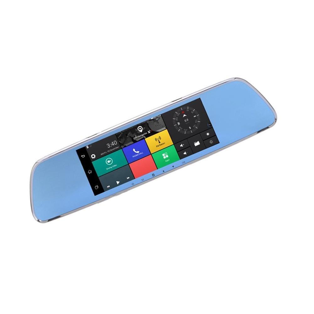 3g потоковое медиа Wi Fi Вождение рекордер 7 дюймов электронная собака Смарт зеркало заднего вида Android навигация удаленный мониторинг