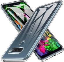 Clear Soft TPU Case For LG G8S G8X ThinQ V50 V60 K51S K41S K50S K40S K61Q60 K50 K40 G9 V40 V30 V20 Q70 Cover Shockproof Case