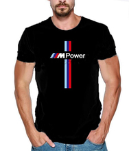 2019 Fashion Brand Printed Men for Bmw M Power Fun Men's T Shirts Classical Summer Style T-Shirt Clothes Euro Size XXXL Men TeeX british style old tree and single wolf pattern t shirt for men m