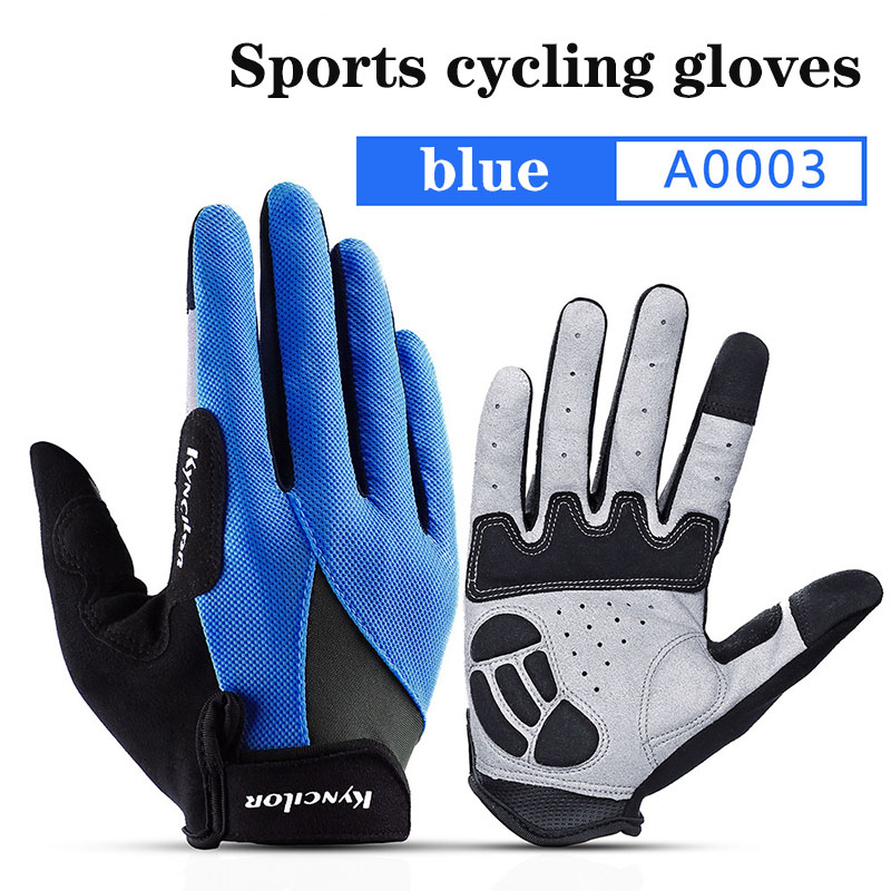 Full Finger Touch Screen Bicycle Gloves MTB Road Cycling Gloves Men Women Unisex Shockproof Sports Mountain Bike Gloves