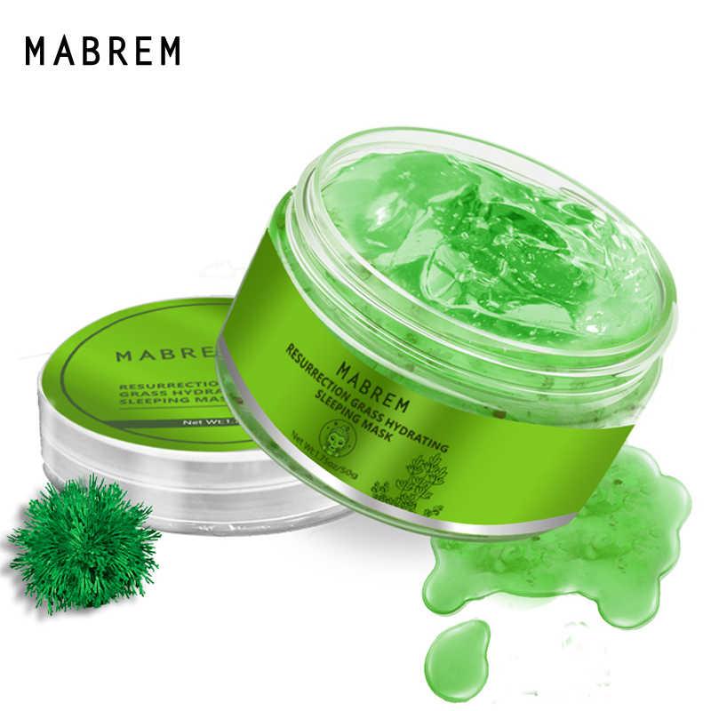 Mabrem Plant Hydrating Gezichtsmasker Hydraterende Anti-Aging Whitening Huidverzorging Revitaliserende Crème Slapen Gezichtsmasker Behandeling