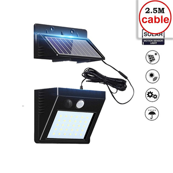 30 LED Solar Lamp Garden Motion Sensor Light Solar Panel Power Lights Outdoor Waterproof Separate Street Path Security Wall Lamp big promotion 15 led solar power panel sensor wall street light waterproof outdoor garden path spotlight decoration lamp