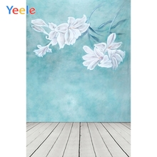 Yeele Photography For Background Flowers Wooden Board Child Photo Backdrops Shoot Props Photocall Photophone Baby