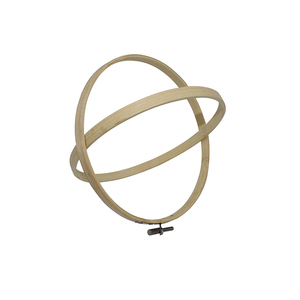 Image 3 - 8 Size 8 26CM Bamboo Frame Embroidery Hoop Ring DIY Needlecraft Cross Stitch Machine Round Loop Hand Household Sewing Tools