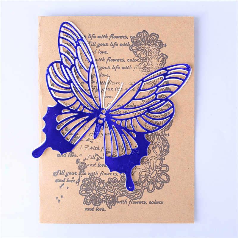 YaMinSanNiO Butterfly wykrojniki do metalu wykrojniki do owadów nowy 2020 wykrojniki do scrapbookingu Album szablon do wytłaczania ozdoby do robienia kartek