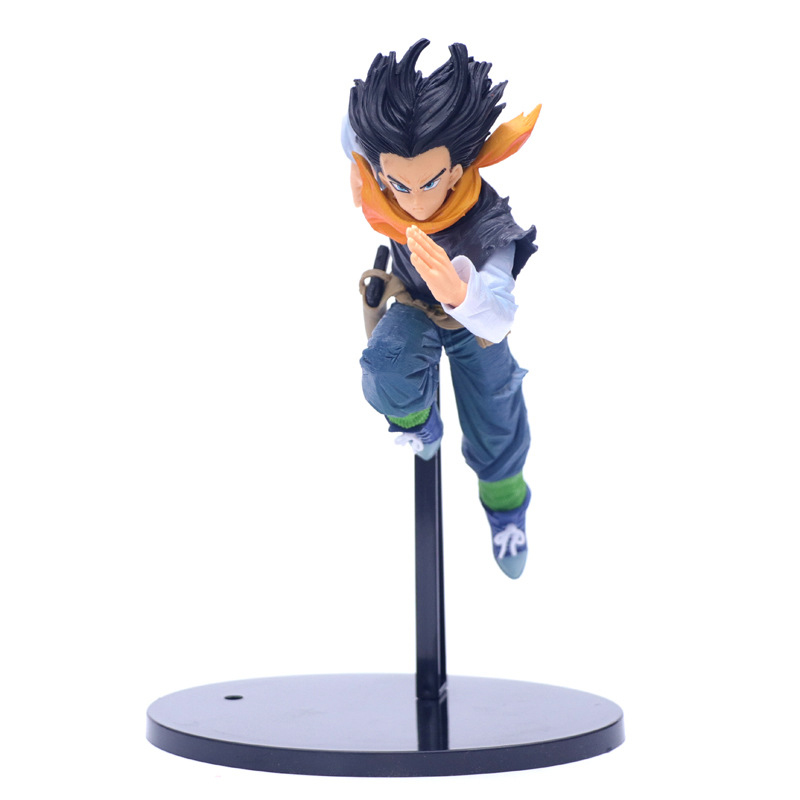 2019 Dragon Ball Z Android 17 Android 18 Lazuli VS Ver. Fighter Action Figure DBZ Goku PVC Model Collection 17cm(China)