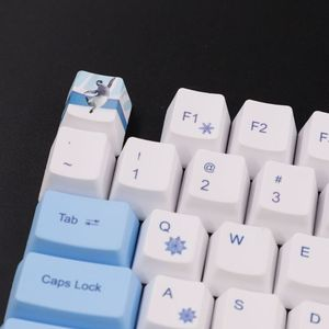 Image 2 - 113 Keys Antarctic Penguin OEM PBT Keycaps Mechanical Keyboard Keycaps PBT Dye Sublimation Keycap Thermal Sublimation