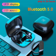 New Arrival Bluetooth Earphones Wireless Headphones LED TWS