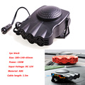Car Heater 2In112V 150W Portable Heating Fan Windscreen Demister Defroster Vehicle Truck Heater Auto Interior Electric Heater