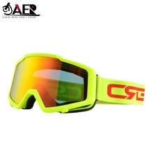 JAER 100% lunettes de moto lunettes de Ski lunettes de Motocross lunettes de course lunettes de Snowboard lunettes de lentilles colorées protecteur UV