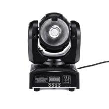 60w led RGBW 4in1 wiązki reflektor z ruchomą głowicą ruchome reflektory światła super jasne LED DJ światło punktowe kontroler dmx światła