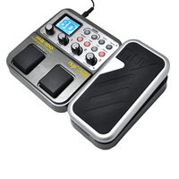 High Quality NUX MG 100 Modeling Guitar Processor Guitar Effect Pedal Drum Tuner Recorder 58 Effect 72 Preset Multi function