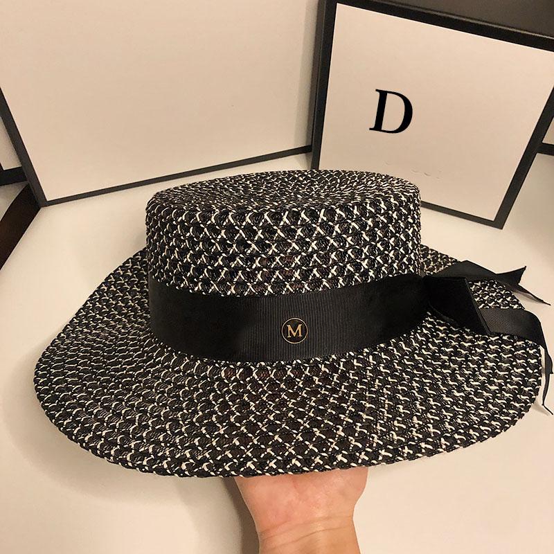 HT067 Sun Hat UPF 50+ Ladies Kentucky Derby Hats Wide Brim Straw Hat Women Summer Beach Cap Fedoras Dress Hat