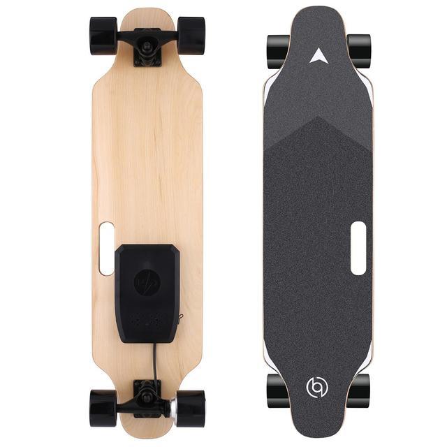 35inch Electric Skateboard 350W 20km/h Longboard Wireless Remote Control Four Wheel Grip Tape Skate Scooter Plate Board