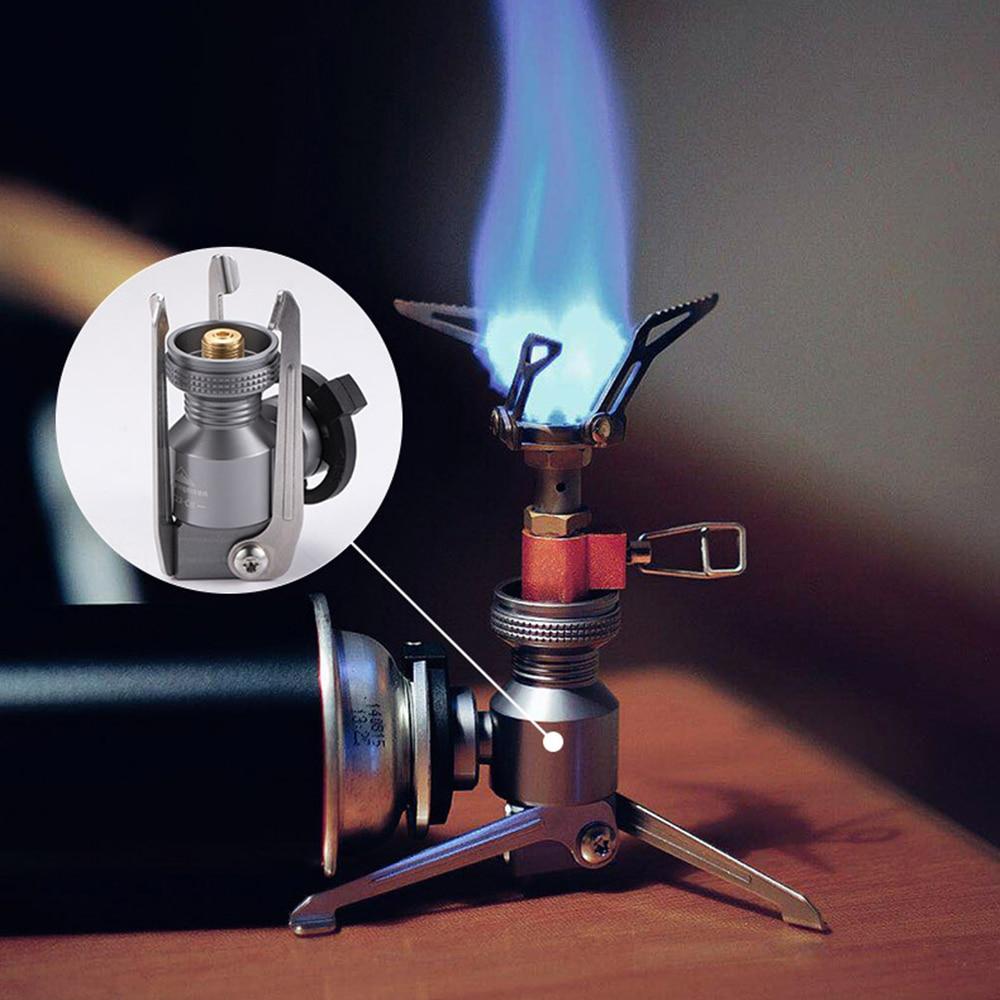 CAMPINGMOON штатив канистра с бутаном адаптер складной газовая плита газовая лампа бак стенд разъем