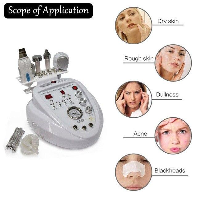 5 in1 تقشير ماسي جلدي الجلد الغسيل آلة شد وإزالة تجاعيد الوجه العناية بالوجه صالون المعدات الشخصية 6