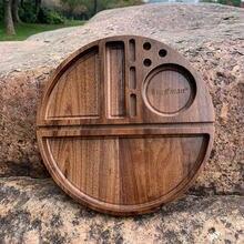 Деревянный поднос cournot из натурального грецкого ореха деревянный