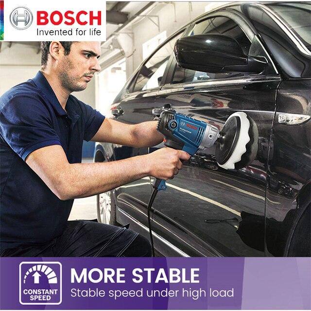 Bosch Polishing Machine GPO 950 DA Car Wax Polisher Electric 220V 50Hz Input Power 950w  EMC Backing Plate 180mm Polishing Pad 5