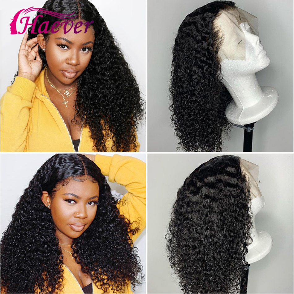 Brazilian 150% 13x4 Curly Wave New Hair Lace Front Human Hair Wigs G Short Bob Pre Plucked With Baby Hair Lace Closure Wig