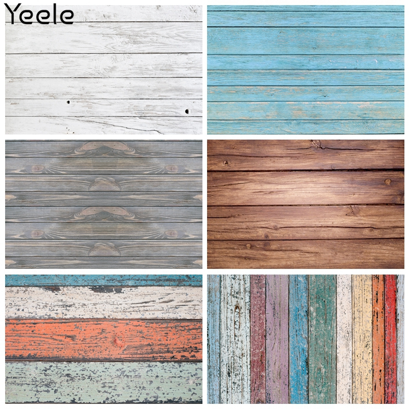 Yeele Photocall Wooden Board Backdrop Texture Food Pet Nail Art Background For Baby Shower Photography Photographic Photo Studio