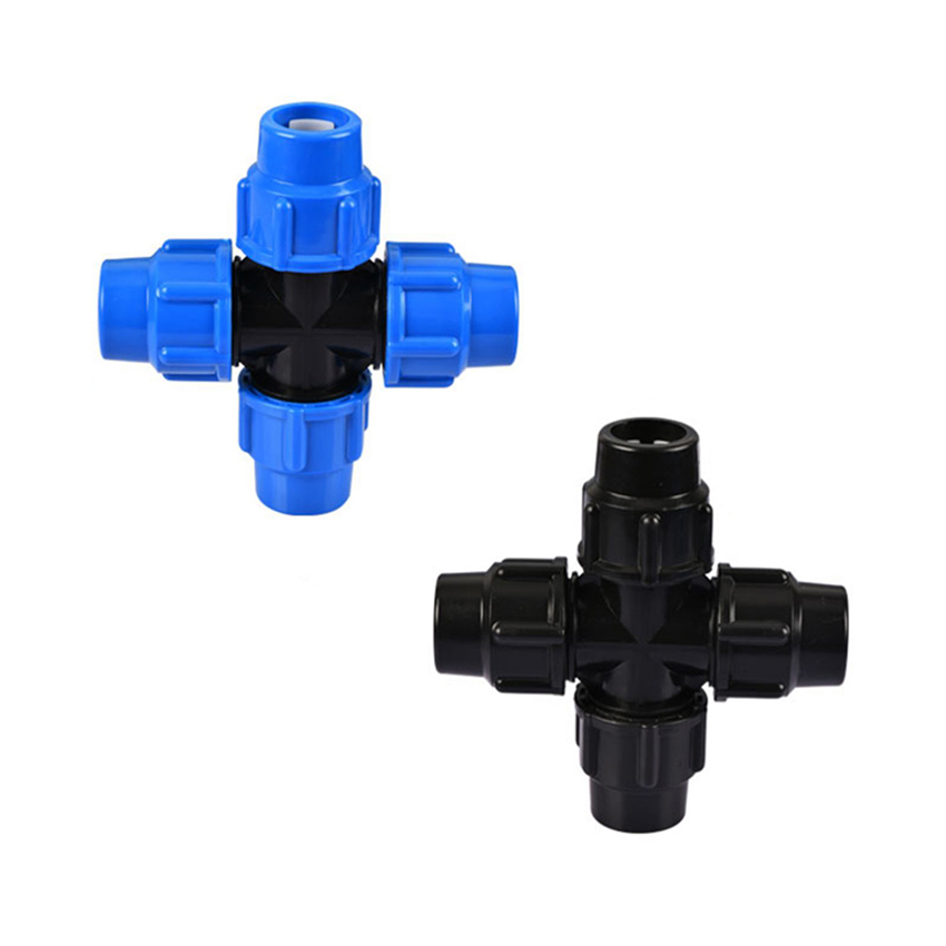 0 5 2inch Slip lock Quick Connectors Straight Elbow Cross Garden Water Hose Splitters Pneumatic Butt Quick Connect Accessories in Garden Water Connectors from Home Garden