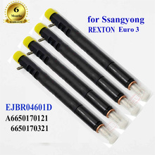 Fuel-Injector REXTON Ssangyong Kyron Rail EJBR0 Diesel 4601D for A6650170121 Euro 3-4pc/Lot