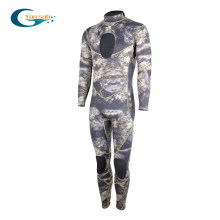 YONSUB 3MM Neoprene Wetsuit One-Piece Camo Scuba Diving Suit for Men Dive Snorkeling Spearfishing Surfing Full Body Wet