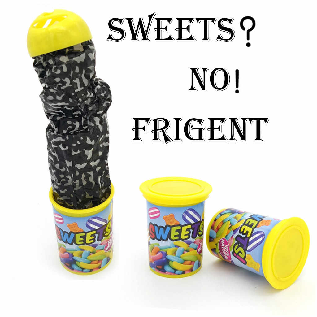 MUQGEW Spoof Funny Scare Novelty toys Small Sweet Candy Scary box Toys Funny Party Game toys gift CN8