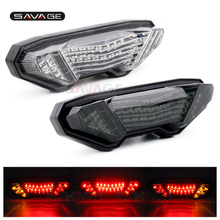 For YAMAHA MT-09 FZ-09 FZ09 MT09 2014 2015 2016  Motorcycle Integrated LED Tail Light Brake Turn signal Blinker Lamp Smoke mt10 mt09 2017 accessories motorcycle brake turn signal tail light integrated led for yamaha mt 09 mt 10 fz 09 tracer 2014 2016