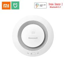 Xiaomi Mijia Honeywell Brandalarm Rookmelder Sensor Hoorbare Visuele Alarm Notication Werken Met Mi Thuis App Door Telefoon