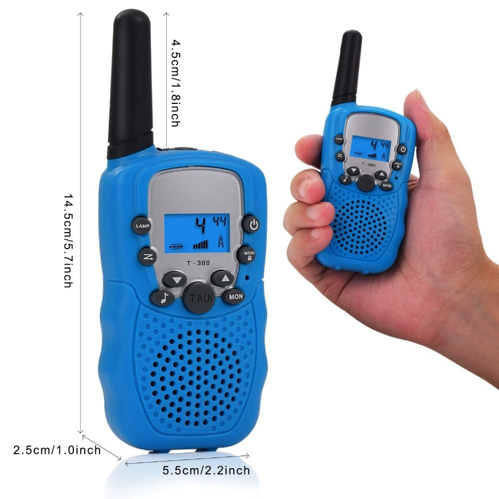 Children's Mobile Phone Toys Electronic Products Electronic Radio Wireless Walkie Talkie Dialogue Toy 2pcsp20