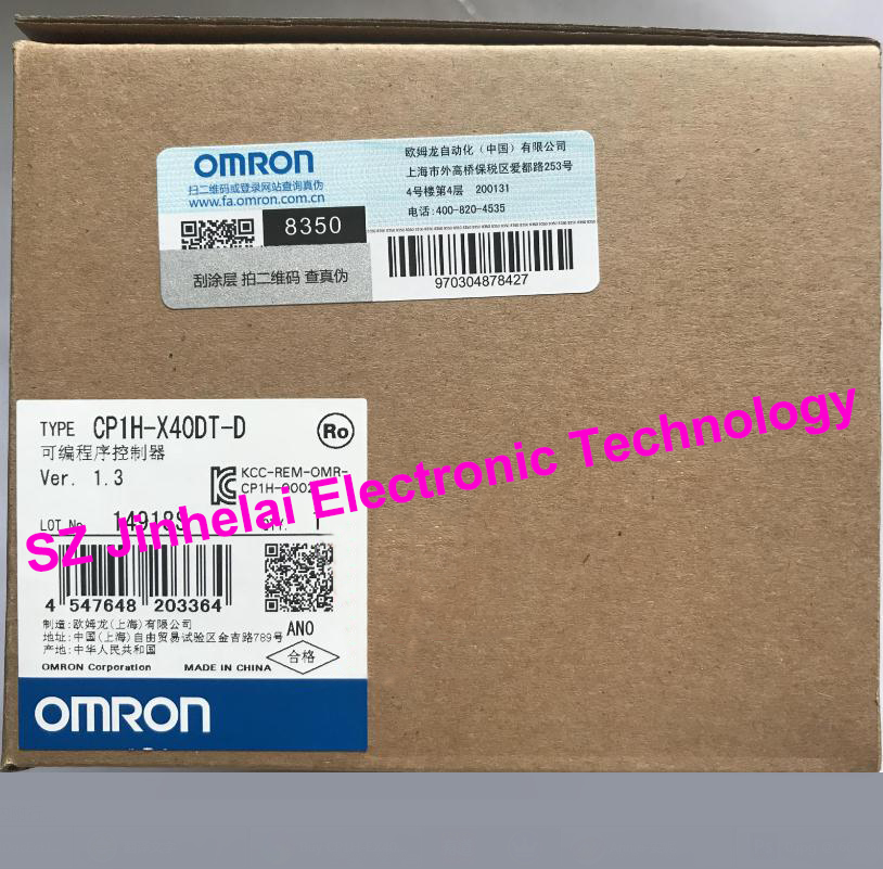 100% New and original CP1H-X40DT-D  OMRON Programmable controller