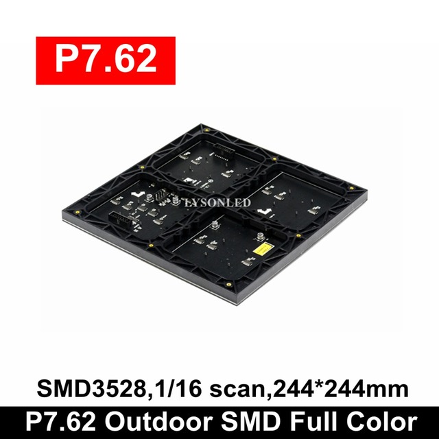 送料無料P7.62屋内smdフルカラーledパネルモジュール244 × 244ミリメートル32 × 32ドット