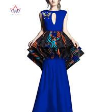 2020 африканские платья для женщин bazin riche стиль femme африканская