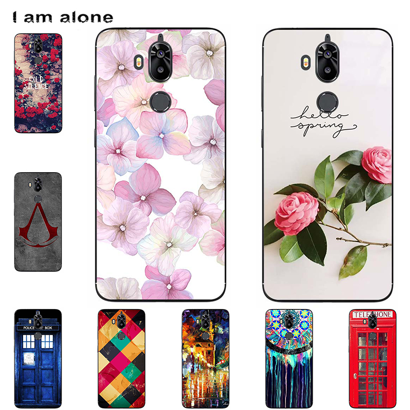 For TP-Link Neffos X9 2018 5.99 inch Cellphone Case Customized Mobile Phone Painted Cover Soft Silicon Handset Housing Bag Shell