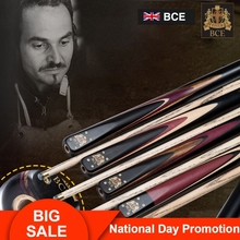 RILEY BHC Series Snooker Cue 9.5-10mm Deer Tip 3/4 Split Ashwood Brass Ferrule Joint with Excellent Extension