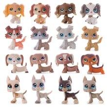 Редкие животные pet shop lps игрушка такса собака такса коричневая Оригинальная фигурка колли кокер спаниель отличный Дэн подарки для детей