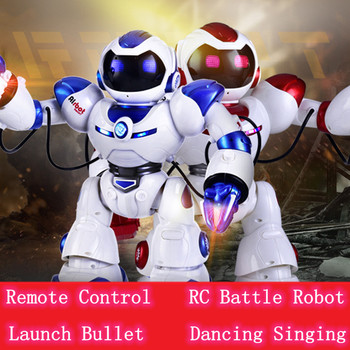 Bitwa zabawka Robot rc walczący humanoidalny inteligentny X mężczyźni AlBott zabawka robot model zabawkowy z uruchomieniem pocisk śpiew taniec pocisk Walking tanie i dobre opinie Tccicadas Fantasy i sci-fi Ready-to-go No Measure see the manual Do not put in water 1029 5-7 lat 2-4 lat 8 ~ 13 Lat